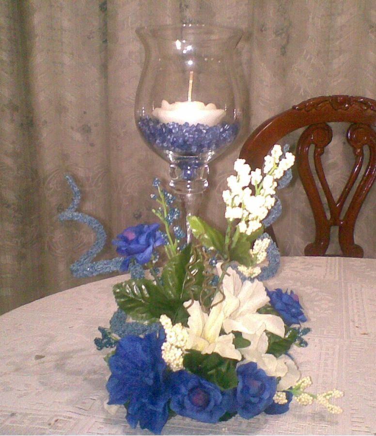 Centro de mesas hacer un centro de mesa con flores - Decoracion de jarrones con flores artificiales ...