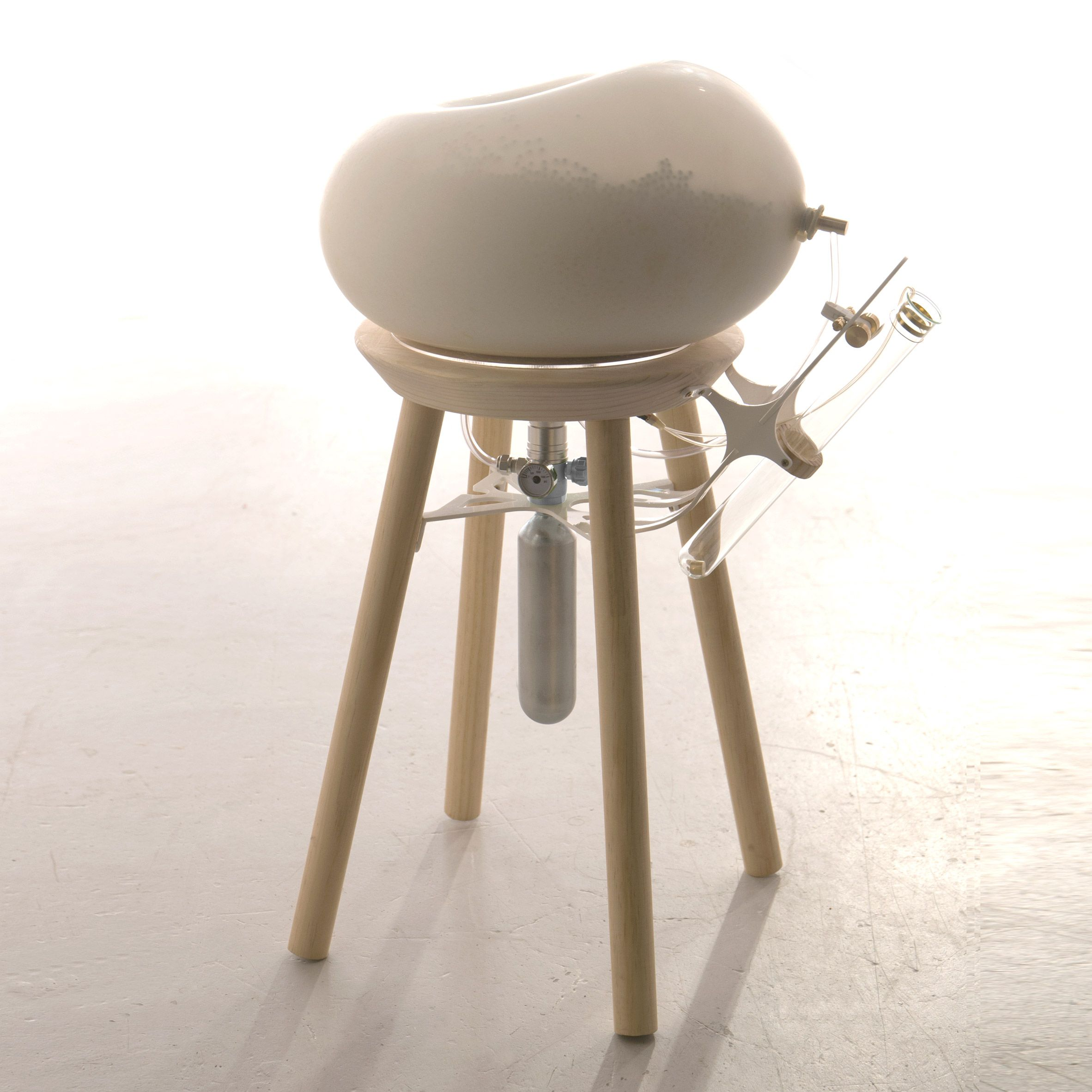 uncomfortable chair. Yi-Fei Chen Designs A Stool For Escaping Uncomfortable Social Situations Chair
