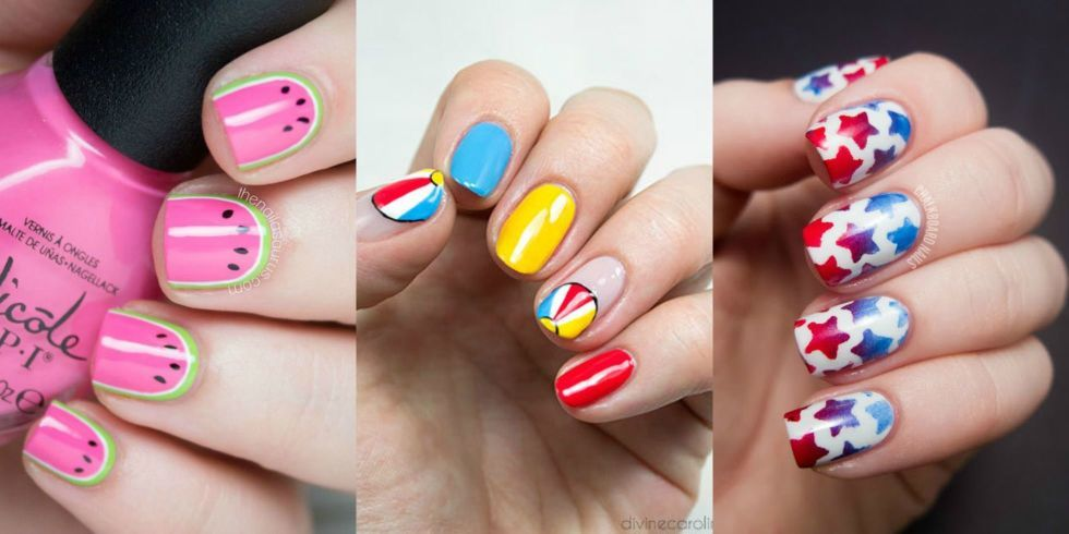 30 Nail Designs That Are So Perfect for Summer | Nails | Pinterest ...