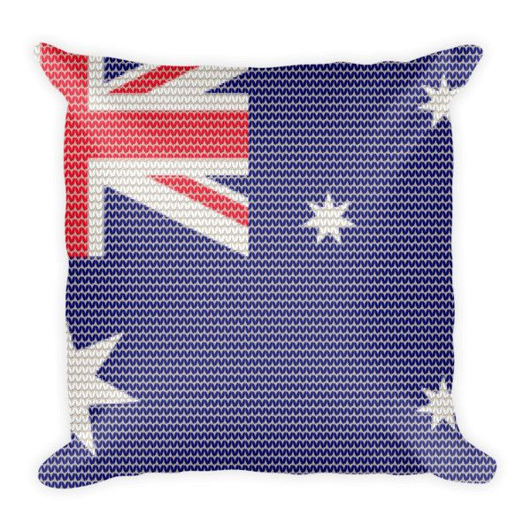 Australian Knitted Style Pillow