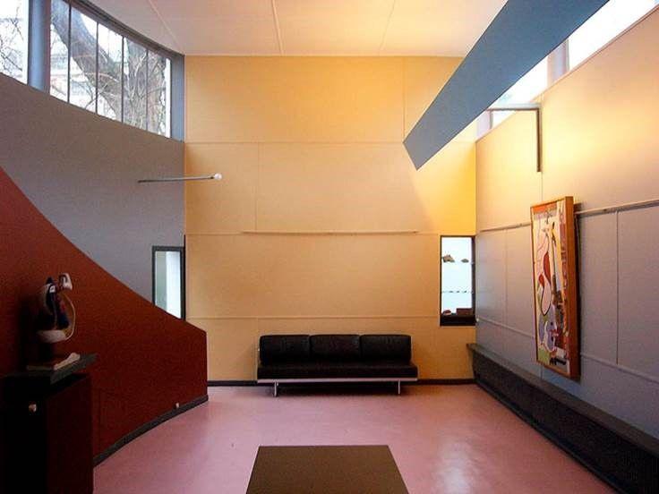 Fondation Le Corbusier Les Couleurs Suisse Polychromie Le