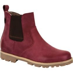 Chelsea-Boots, rot, Gr. 36 Jako-O