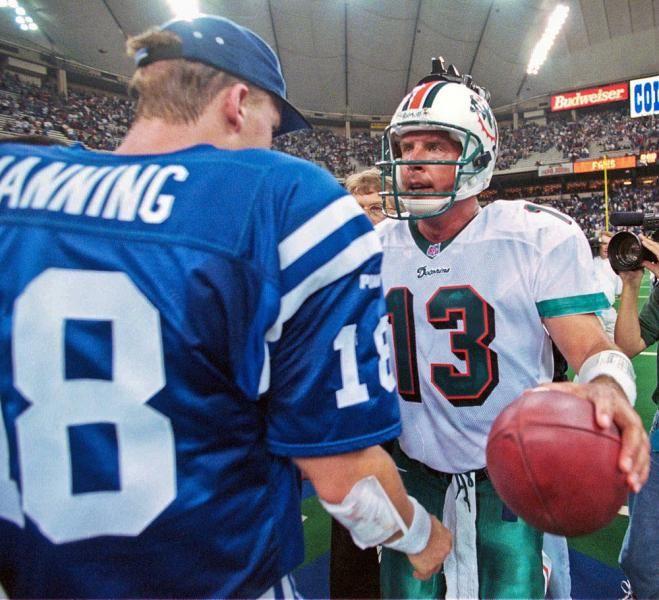 Peyton Manning & Dan Marino