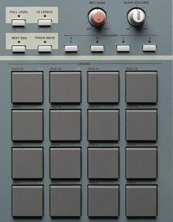 Akai MPC 2000XL pads   Music Production in 2019   Drum