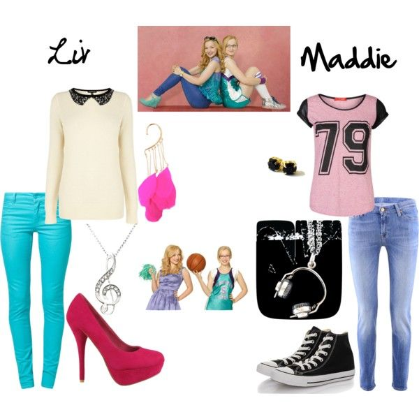 """""""Liv and Maddie!"""" by hannahbee816 on Polyvore"""