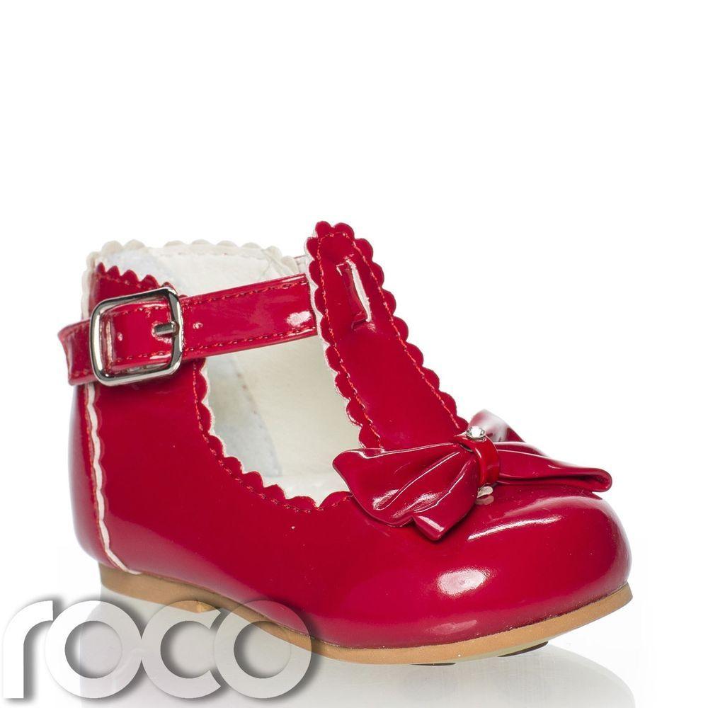 5310ca872 Bebé Niña Zapatos Rojos