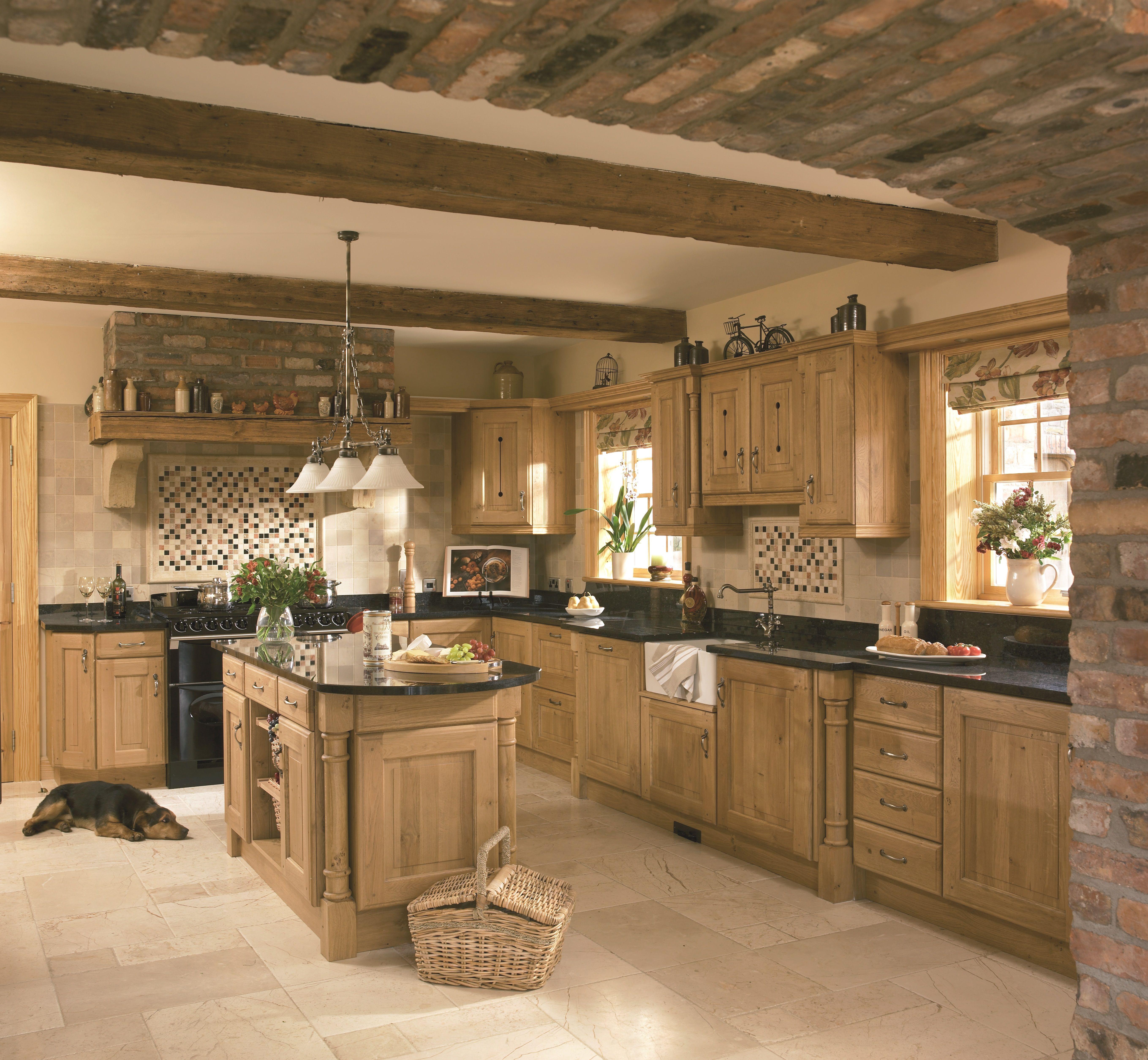 Kitchen Pippy Oak Country Kitchen Kitchen Remodel Kitchen Design