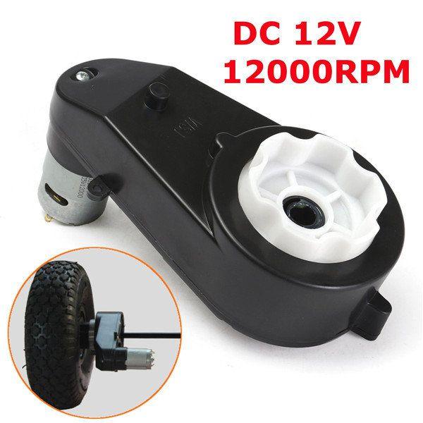 Dc12v 12000rpm Gear Motor High Speed Motor Listrik