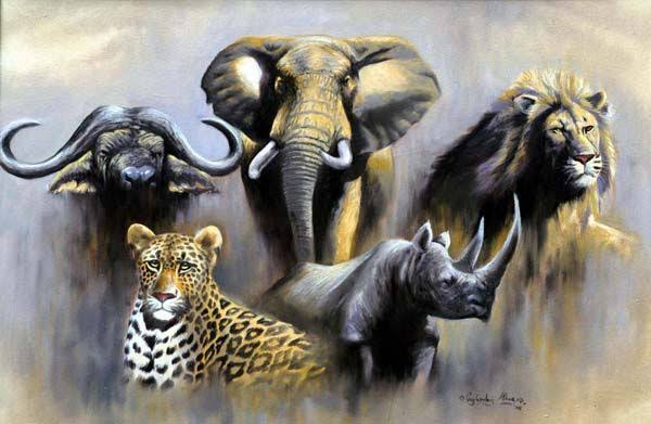 Clipart South Africa Big 5 Animals Google Search Africa Animals