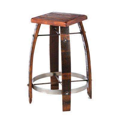 2 Day Designs Daisy Stave Stool 197 Wine Barrel Bar Stools Wine Barrel Furniture Barrel Furniture