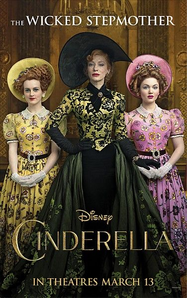 Upcoming Live Action Disney Movies: New Posters For Live-action #CINDERELLA Showcase Film's