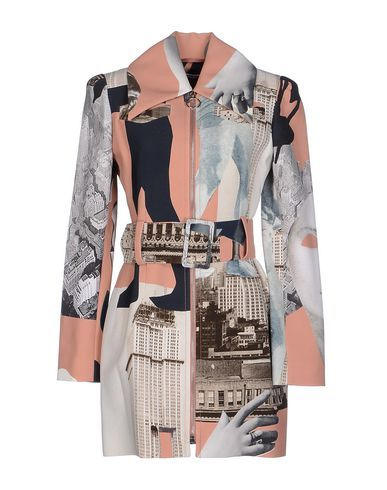 I found this great CARVEN Full-length jacket on yoox.com. Click on the image above to get a coupon code for Free Standard Shipping on your next order. #yoox