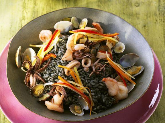 Meeresfrüchterisotto ist ein Rezept mit frischen Zutaten aus der Kategorie Meeresfrüchte. Probieren Sie dieses und weitere Rezepte von EAT SMARTER!