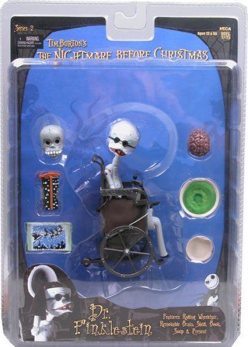 "NECA Nightmare Before Christmas Dr Finklestein 7/"" Action Figure Series 2"