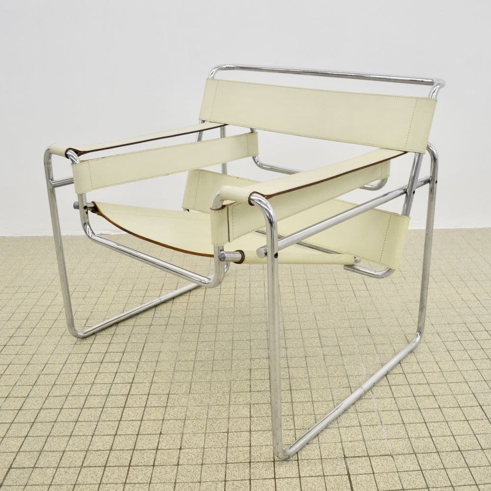 For sale Vintage Gavina B3 'wassily' chair by Marcel