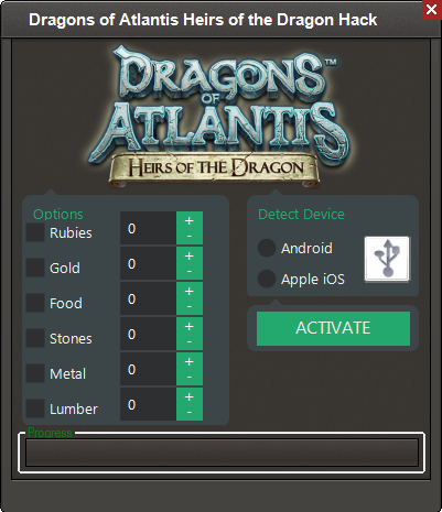 Dragons Of Atlantis Heirs Hack Cheats Mod Hacks