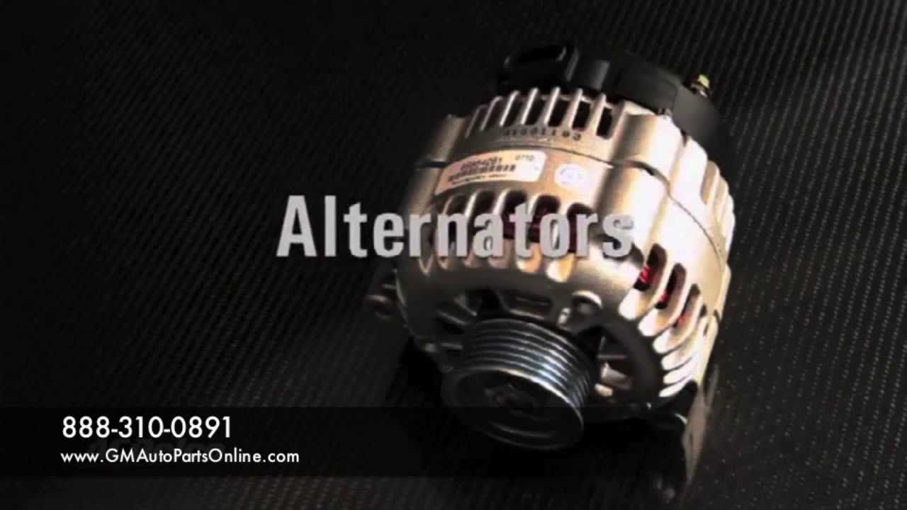 Starters & Alternators GM Parts Worldwide Delco Genuine Replacement ...