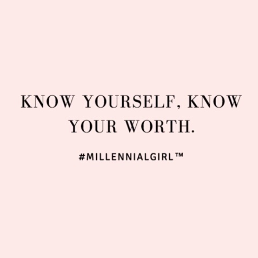 Know Yourself Know Your Worth Wisdom Affirmations Inspiration