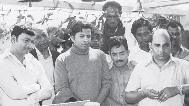 m p shankar family