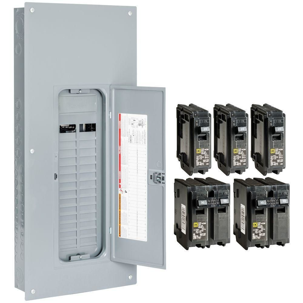 circuit breakers and fuse boxes 20596 square d main lug load center homeline 225 amp 60 circuit indoor new buy it now only 72 98 on ebay circuit  [ 1000 x 1000 Pixel ]