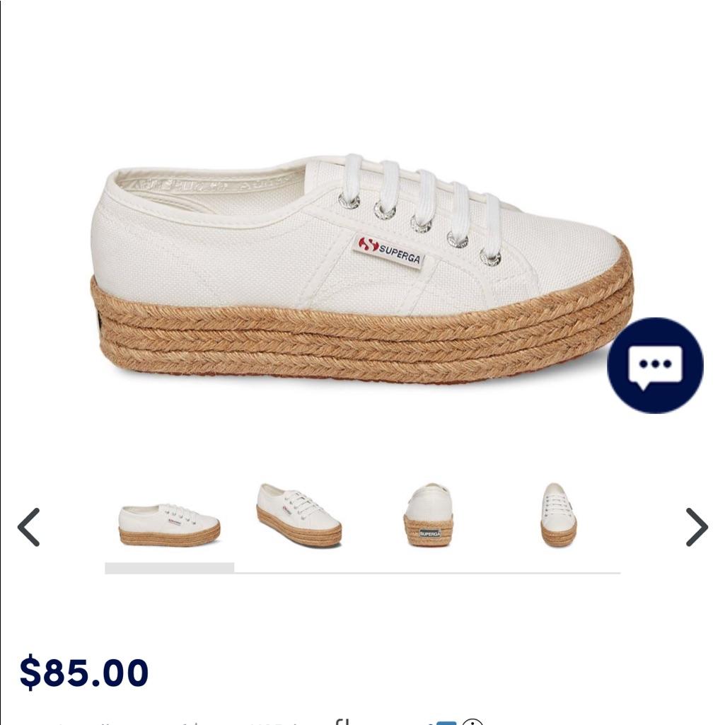 super cheap buy 2018 shoes Superga Shoes   White Superga 2730 Cotropew Platform Sneakers ...