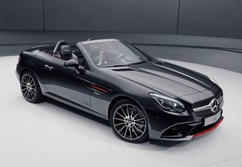 Mercedes Benz Slc Redart And Sl Designo Editions Revealed Mercedes Slc Mercedes Benz Benz