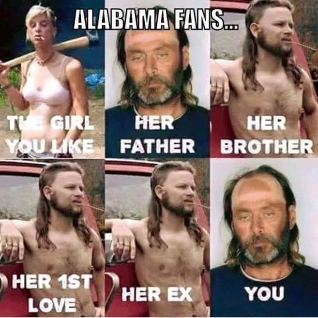 def3e1dc64d2dcc5bc62f8c8164e6ac7 alabama crimson tide fans funny meme memes pinterest alabama