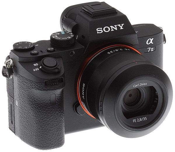 Sony A7ii Review Front Top View With Fe 24 70 F4 Lens Sony Sony A7 Canon Camera