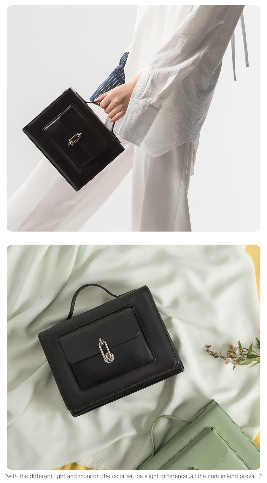 Viewinbox Luxury Handbags Women Bags Designer Small Flat Leather Postman Bag  Solid Cross body Messenger Bag Beautician Lady Bags  luxuryhandbags   ... 4969cc7a162df