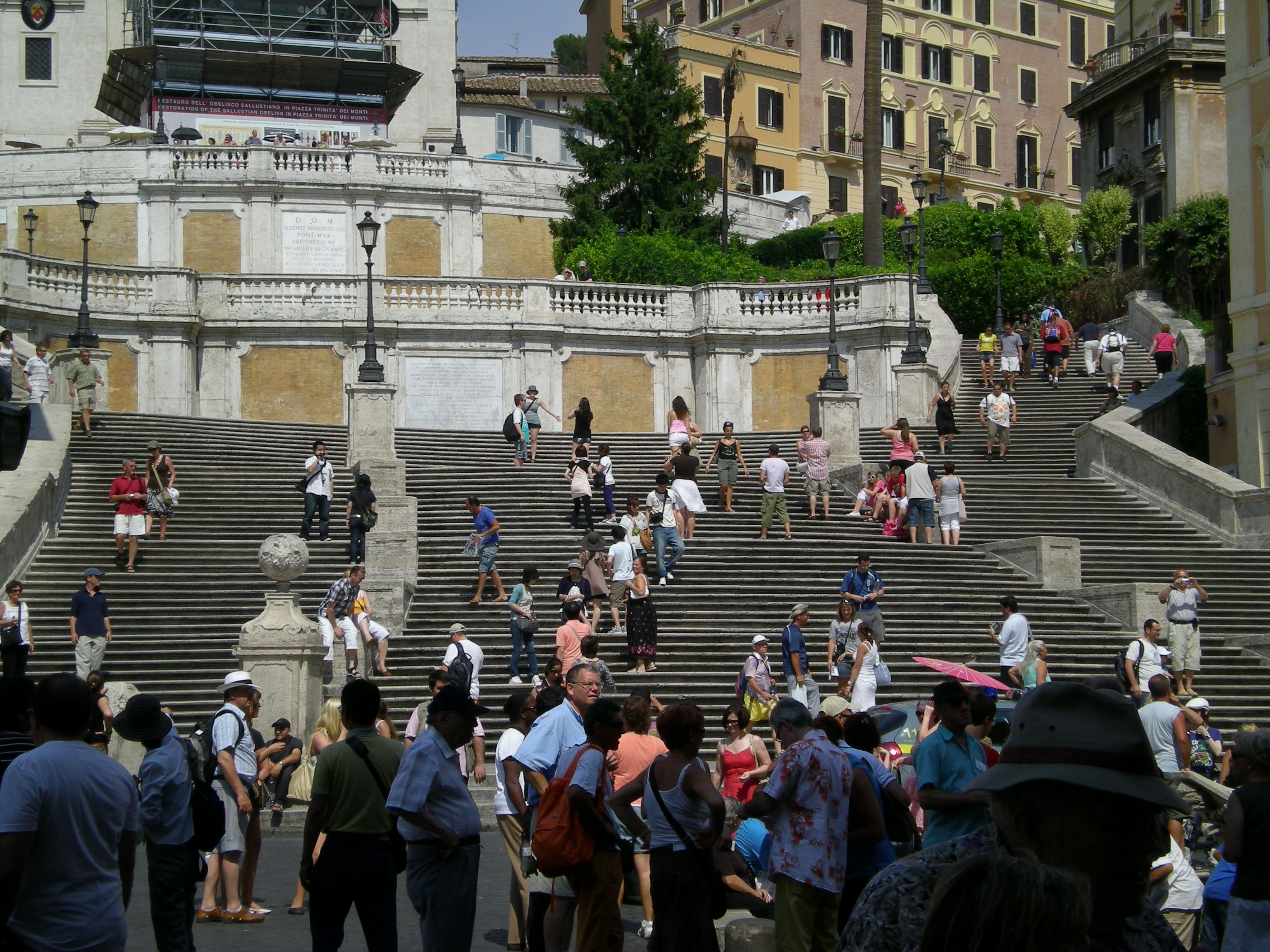 Spanish Steps in Rome, I know wierd it would be named Spanish  Steps in Rome, I know...