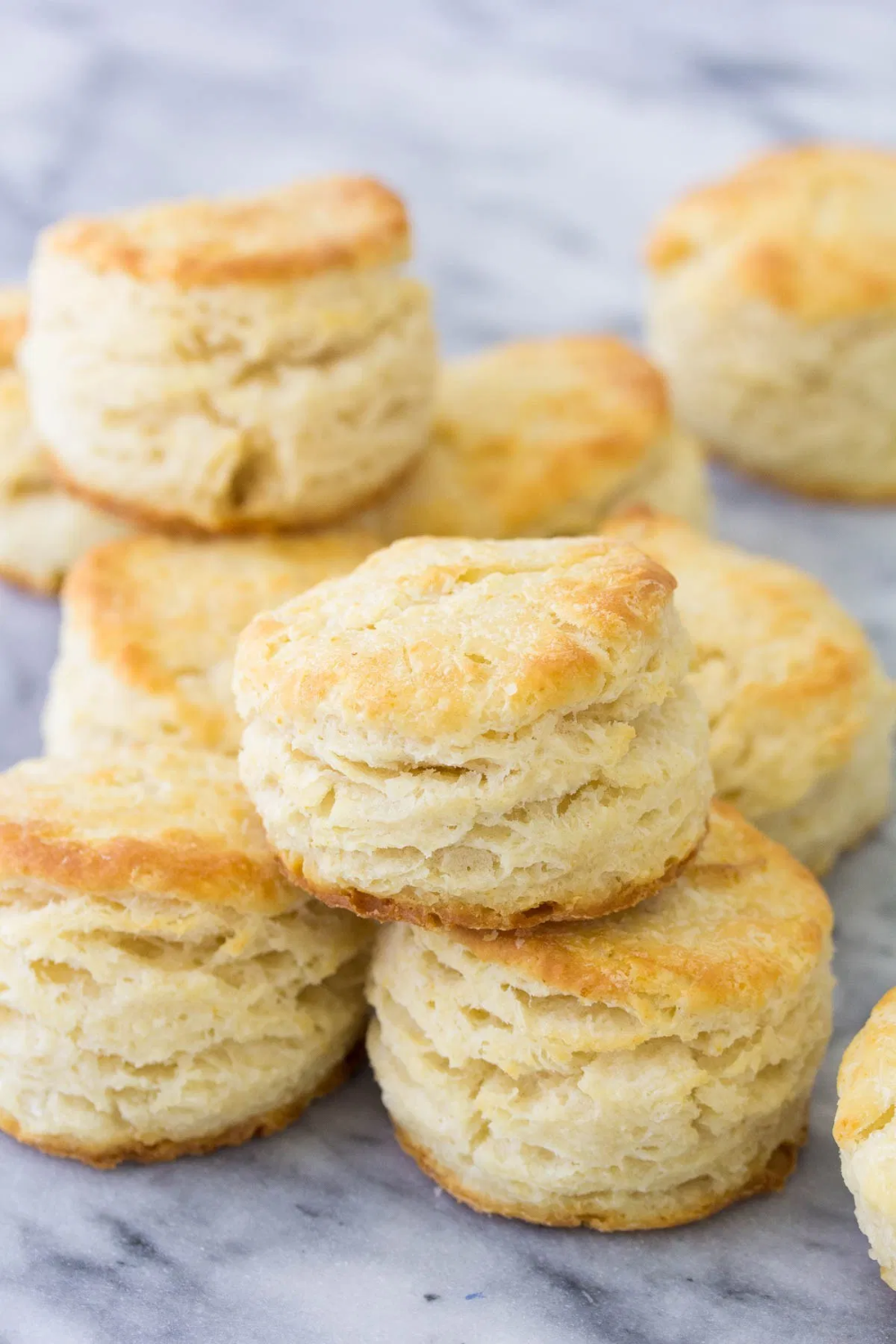 The Best Biscuit Recipe These Homemade Biscuits Are Fluffy And Tender With Lots Of Flaky Layers In 2020 Best Homemade Biscuits Best Biscuit Recipe Homemade Biscuits