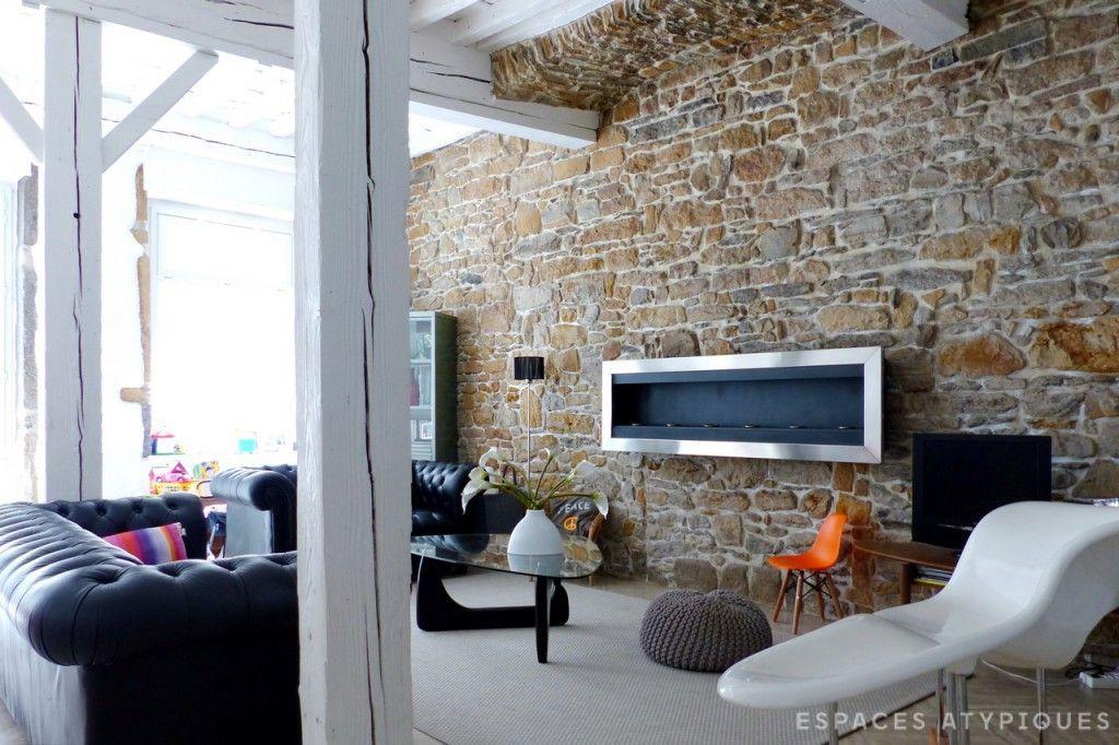 Lyon Commerce Rehabilite En Duplex Avec Cour Interieure Duplex Cour Interieure Et Appartement Terrasse