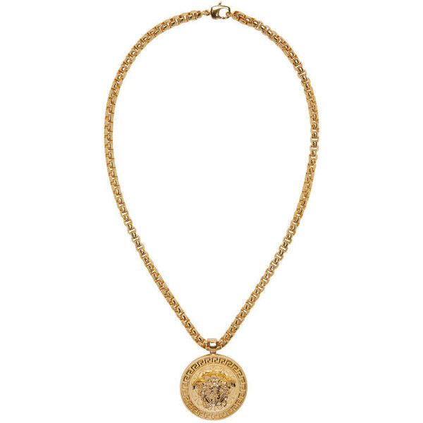 Versace gold medusa necklace 4030 ron liked on polyvore versace gold medusa necklace 4030 ron liked on polyvore featuring mens fashion mens jewelry mens necklaces gold mens gold necklace mens gold aloadofball Image collections