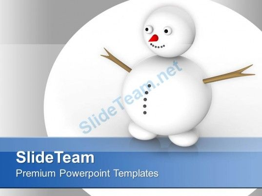 snowman celebration happiness winter powerpoint templates ppt themes and graphics 0113 powerpoint templates