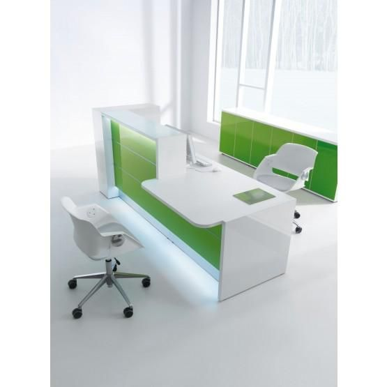 Straight Reception Desk wCounter Top by MDD Office Furniture Straight Reception Desk wCounter Top by MDD Office Furniture