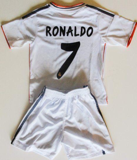 huge discount 06ed5 a54e2 Amazon.com: 2013/2014 real madrid home football soccer kids ...