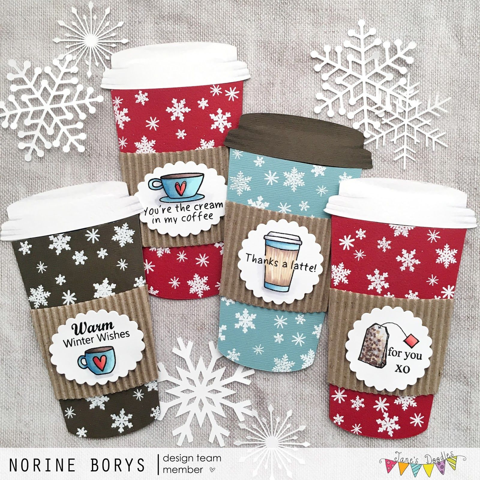 Coffee gift cards....