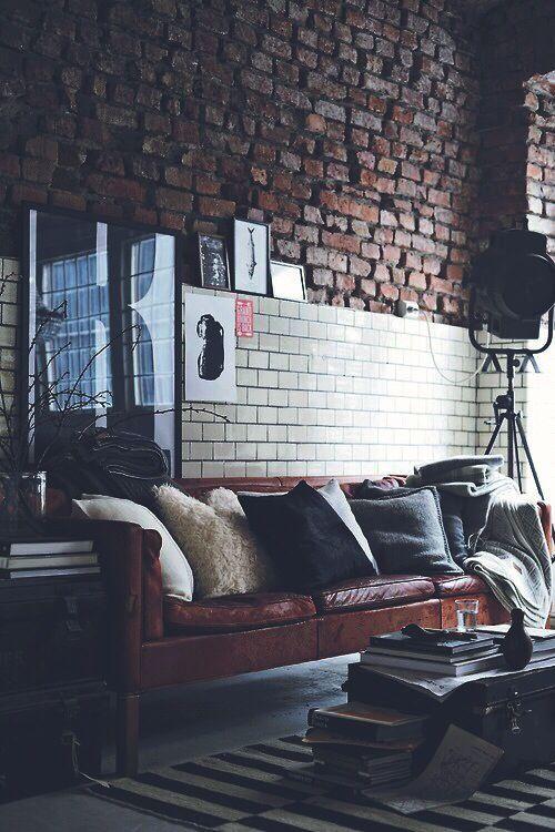 Urban Industrial Livin G Pinterest Haus Wohnzimmer Und Mobel
