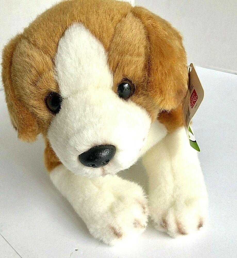 Perfect Petzzz Sleeping Beagle Plush Battery Powered Breathing Toy