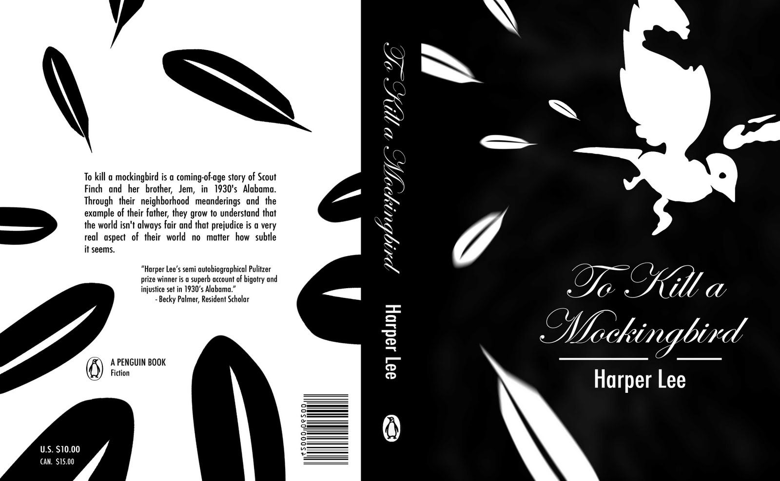 an analysis of the book to kill a mockingbird by harper lee Dive deep into harper lee's to kill a mockingbird with extended analysis,  tom  robinson is the symbolic mockingbird of the novel and is convicted and killed.