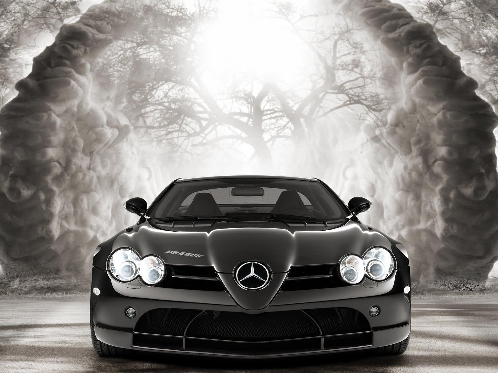 Mercedes Benz Slr Mclaren Mercedes Benz Slk Mercedes Brabus Slr Mclaren