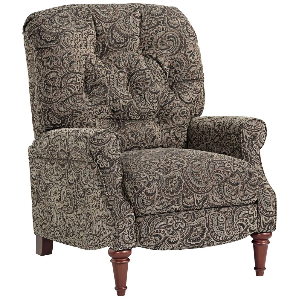 Wordsworth Tufted Paisley 3 Way Pushback Recliner Chair   Style # 18T57