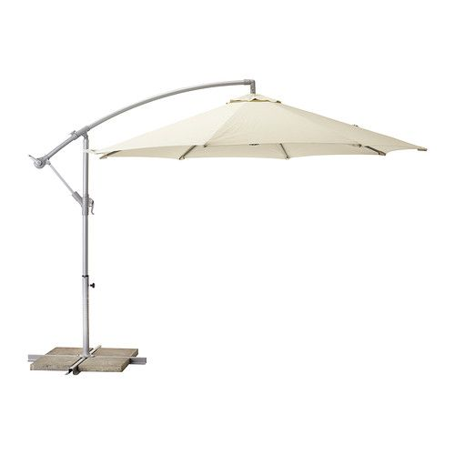 KARLSÖ Parasol, Hanging IKEA Provides Excellent UV Protection As The Fabric  Blocks At Least 97