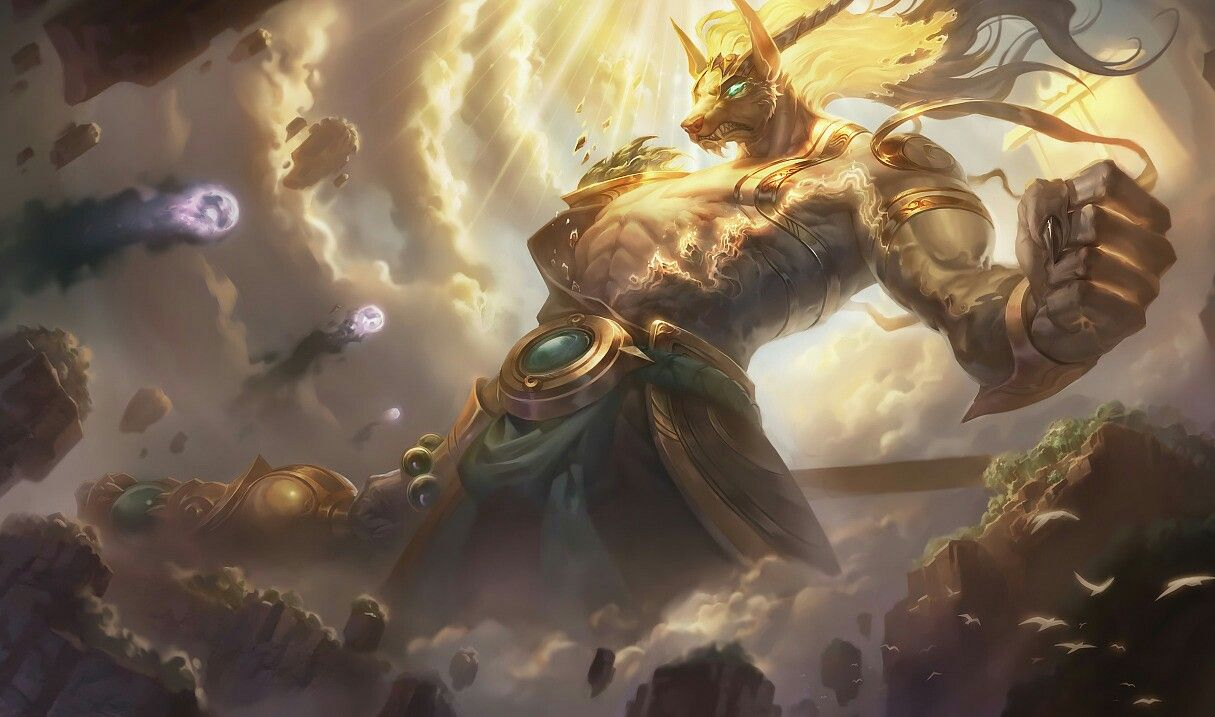 Luanar Guardian Nasus Lol Gedönze Pinterest League Of Legends