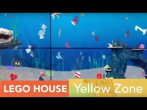 yellow zone im lego house d nemark youtube lego haus lego house. Black Bedroom Furniture Sets. Home Design Ideas