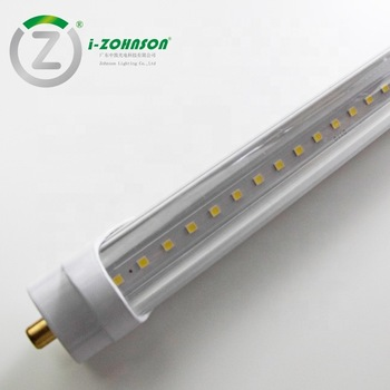 Single Pin 2400mm 8ft T8 Tube Fa8 48w Ballast Bypass 120lm W Etl For Usa Canada Market Buy T8 Led Tube Ballast Bypass Etl Produc T8 Led Tube Led Tubes T8 Led