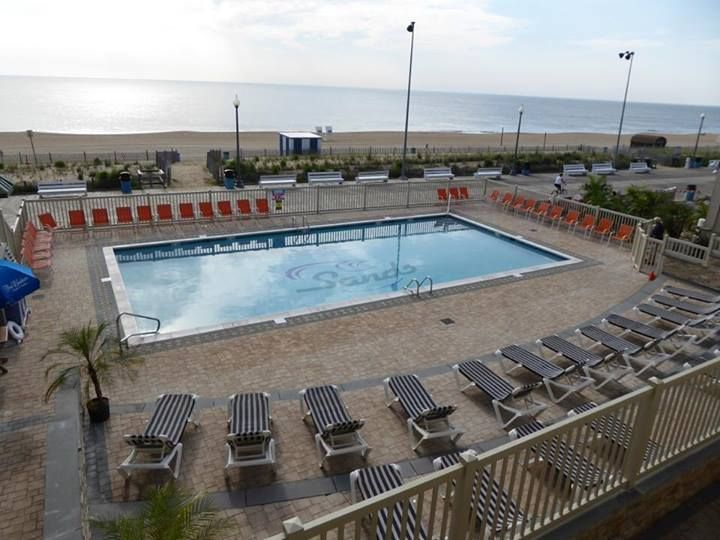 The New Pool And Deck At The Atlantic Sands Hotel On The