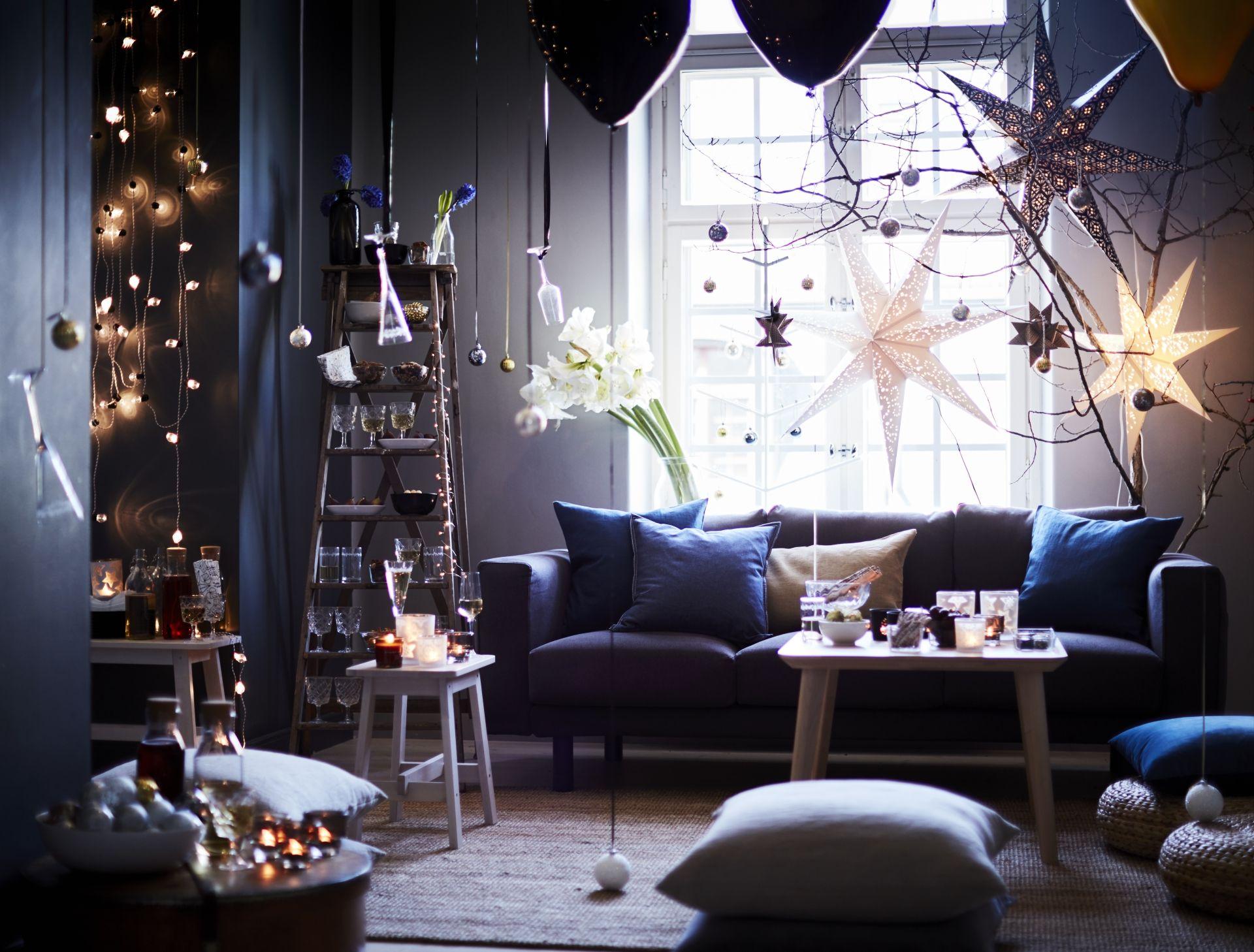 vinter 2016 collectie ikea ikeanl kerst zwart wit goud knutselen diy eten hout decoratie recepten diner brocante scandinavisch cadeautjes tafelversiering