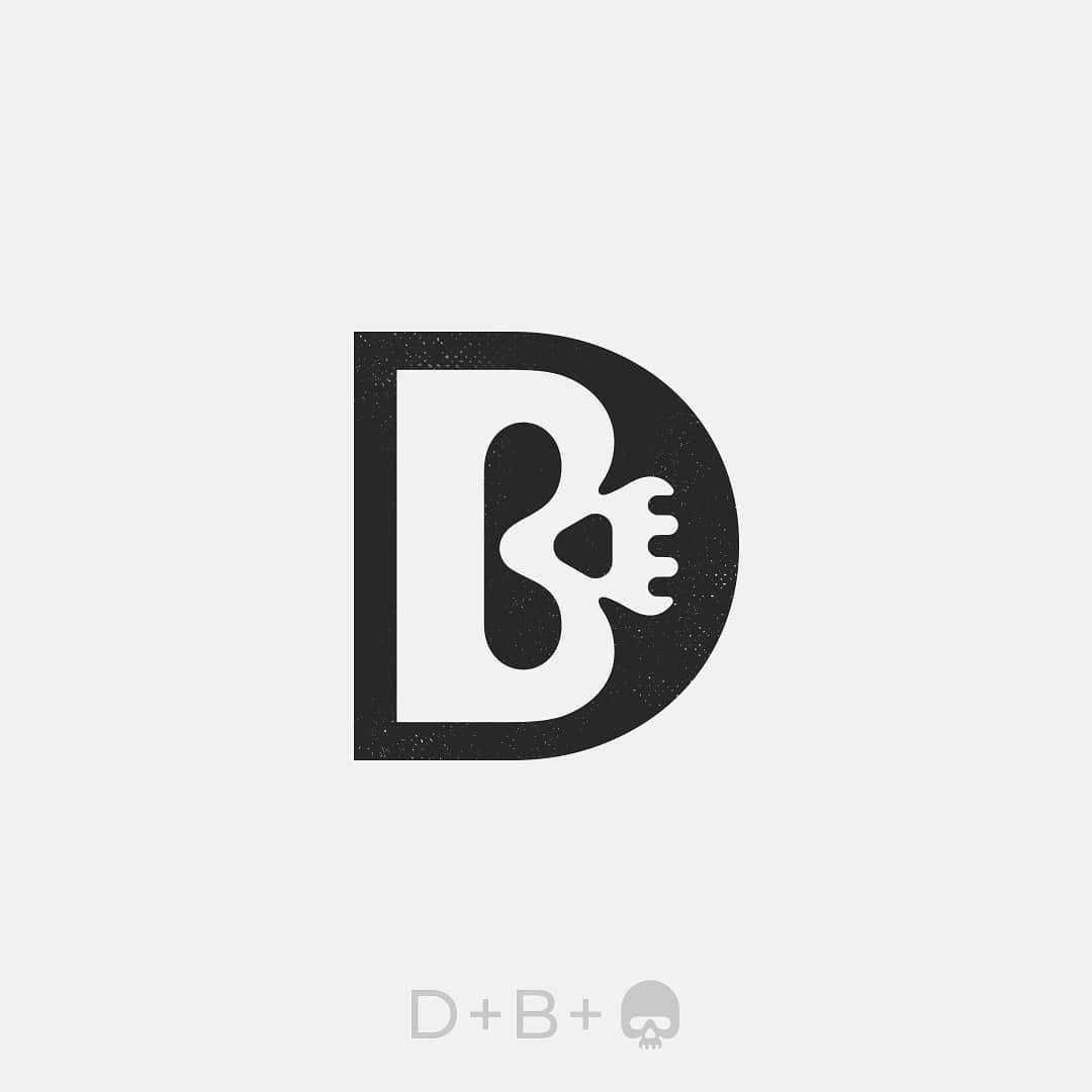 Logo Creative Logos Black Negative Space Inspiration Brand