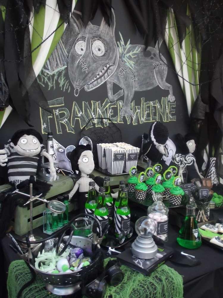 Frankenweenie/Tim Burton Halloween Party Ideas Party desserts - sweet 16 halloween party ideas